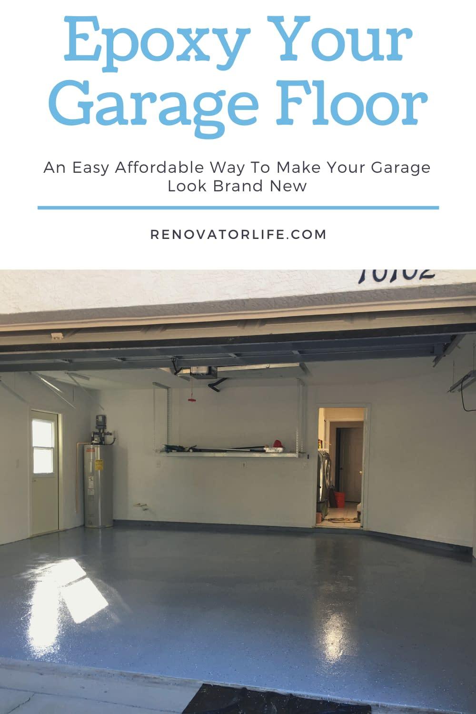 Epoxy Your Garage Floor