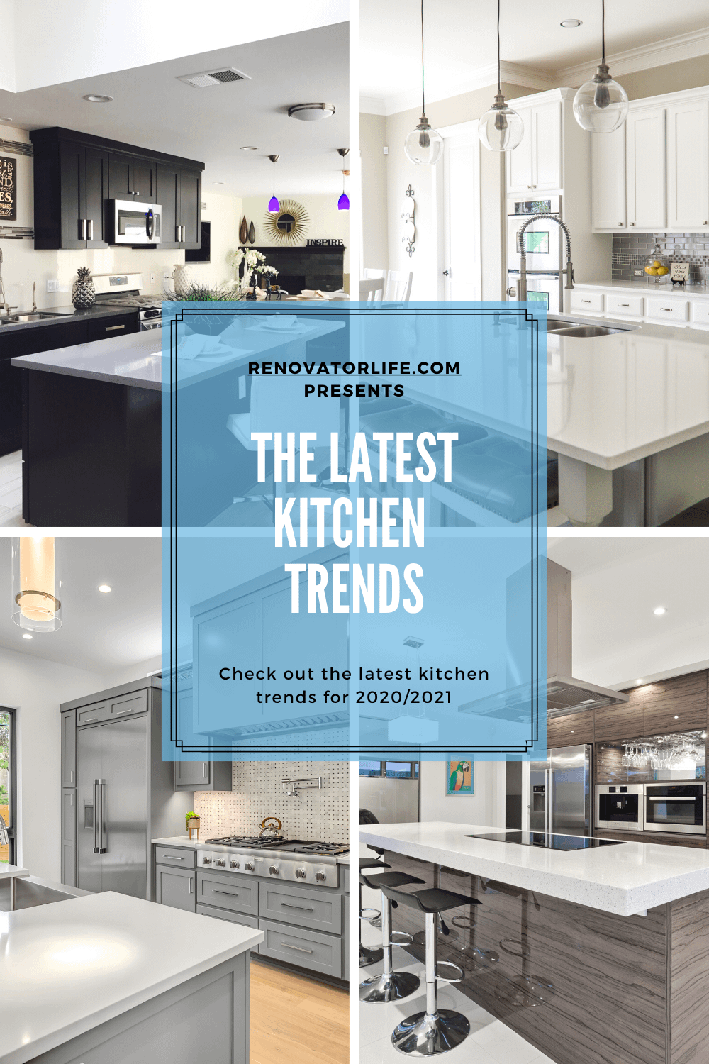 the latest kitchen trends