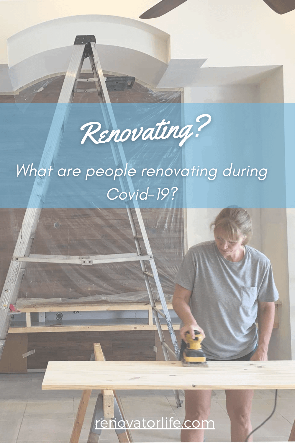 What are people renovating during Covid-19