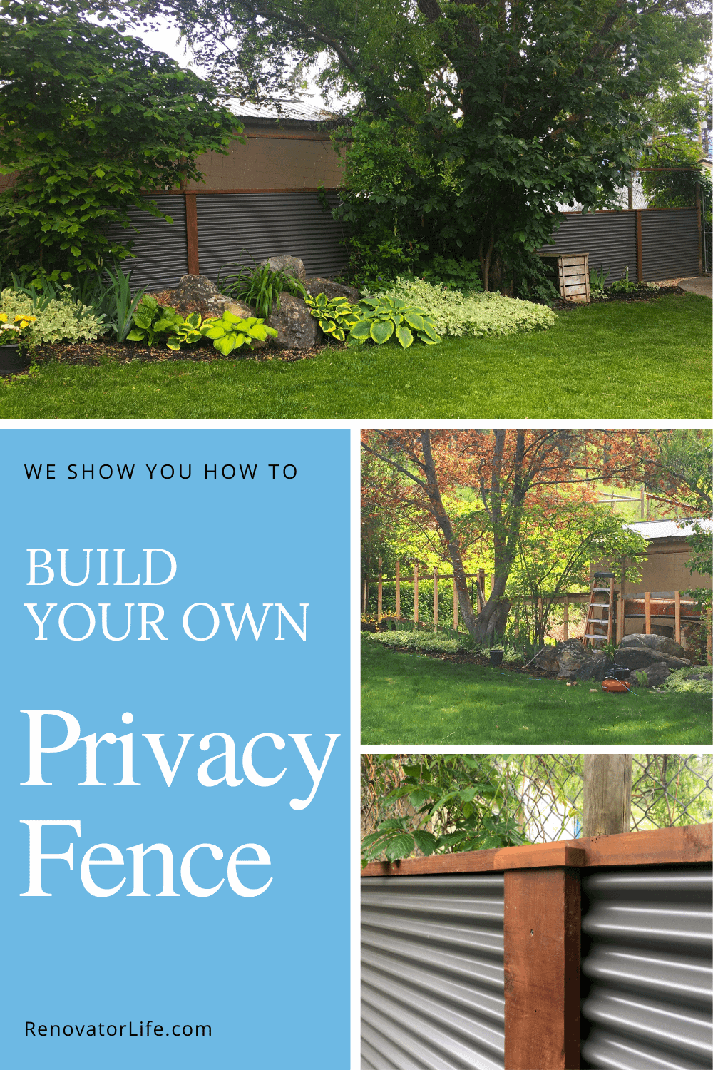 Build Your Own Privacy Fence