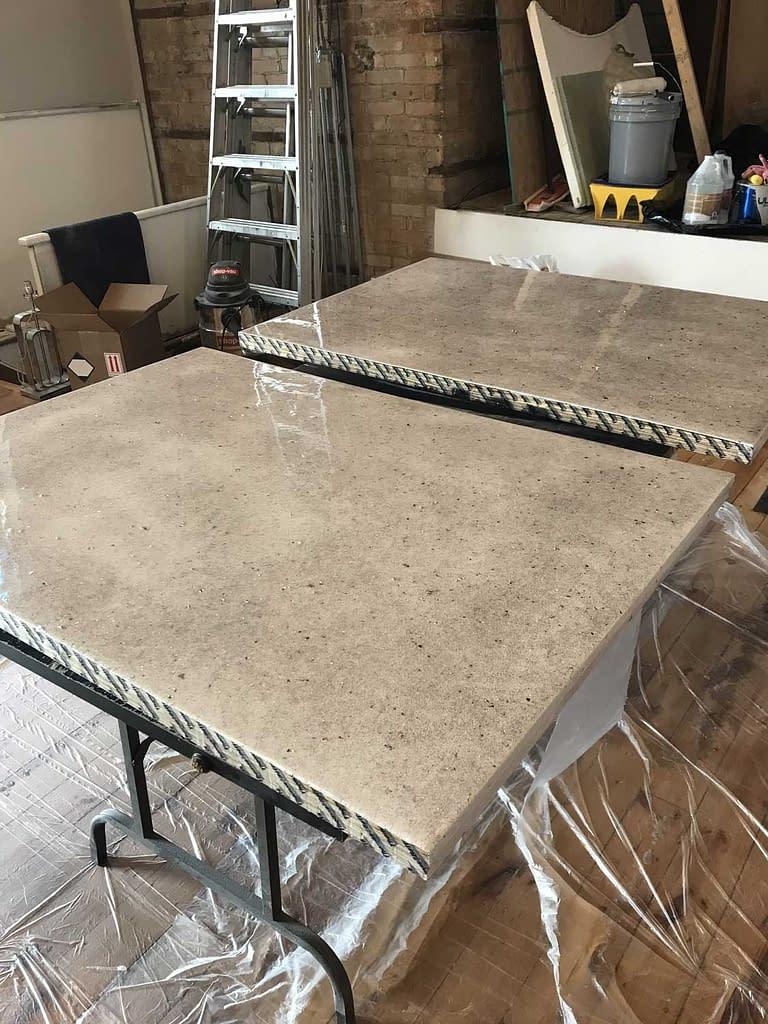 Creating quartz look panels
