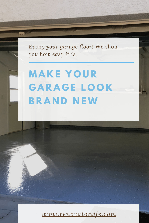 make your garage look brand new