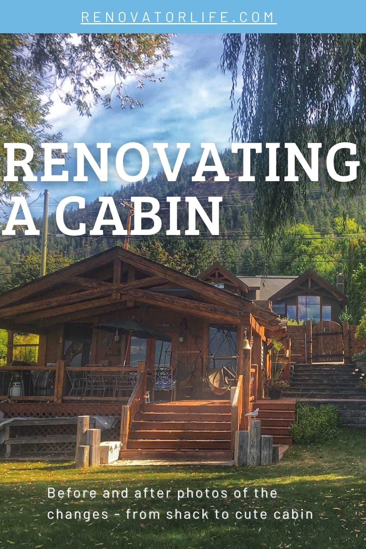 Renovating a cabin