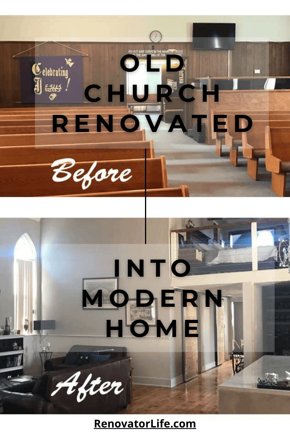 Old Church Renovated Into Modern Home