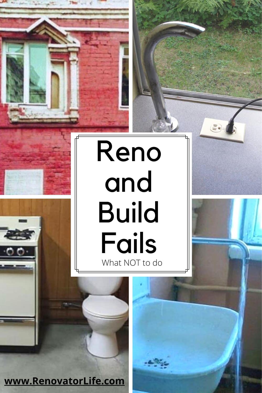 Reno and Build Fails