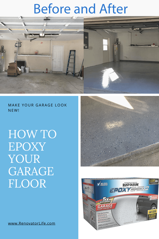How to epoxy your garage floor