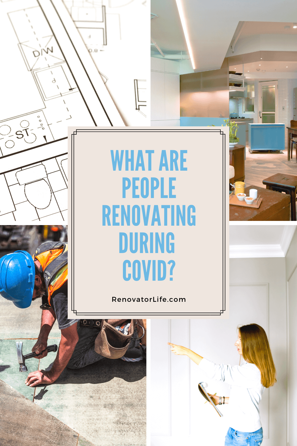 What Are People Renovating during COVID